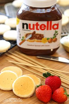 The Yummy Nutella Kabobs