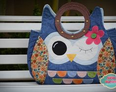Bolsa Coruja By Gabia Atelier