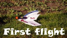 EACHINE FURY FLYING WING - FIRST FLIGHT - PROP UPGRADE - FPV - TBS CROSS...