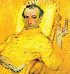 The Yellow Scale by Franz Kupka a Czech avant-garde painter who lived in Paris. The man in yellow is Charles Baudelaire. Yellow Art, Yellow Painting, Copic Drawings, Art Drawings, Frantisek Kupka, Artists And Models, Modern Art Paintings, Retro Wallpaper, Museum Of Fine Arts