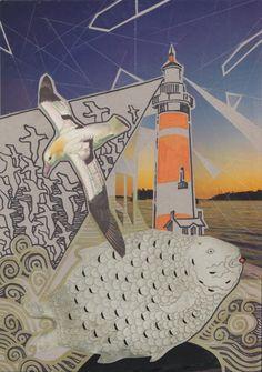 Коллажный флешмоб Натали Ратковски Nr 12: Маяки - {иллюстрация, дизайн и другие ...котики} Page 2