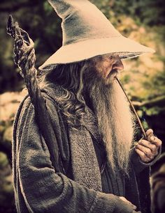 Gandalf from The Lord of the Rings movies and books and The Hobbit movies and…