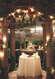 Cactus and Tropical wedding