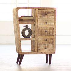 Atomic Island Cabinet | dotandbo.com puede ser un velador, un cabinete, un mueble grande http://www.dotandbo.com/collections/weekender-desert-oasis/atomic-island-cabinet