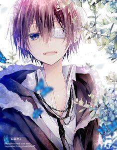 Anime Demon Boy, Dark Anime Guys, Cool Anime Guys, Cute Anime Boy, Kawaii Anime Girl, Anime Art Girl, Kawaii Art, Anime Boys, Anime Chibi