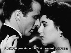 i've loved you since the first moment I saw you