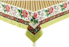 Jardin Tablecloth on OneKingsLane.com