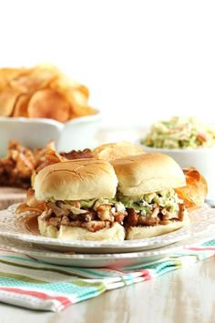 A great make ahead meal to feed a crowd, these sliders are economical and use just a few ingredients to create a complete meal!