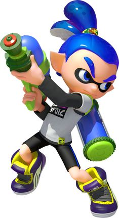 The Inklings are the main playable characters of the 2015 shooter game Splatoon. The orange. Nintendo Characters, Video Game Characters, Pinterest Mexico, Splatoon Costume, Plantas Versus Zombies, Kenzo, Modelos 3d, Boys Wallpaper, Shadow The Hedgehog