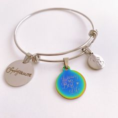 Unique Bracelets, Beaded Bracelets, Photo Charm Bracelet, Photo Charms, Compact Mirror, Craft Storage, Handmade Accessories, Custom Photo, Display Ideas