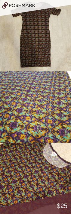 Lularoe Dress Floral print No piling  No holes No stains   Perfect condition LuLaRoe Dresses
