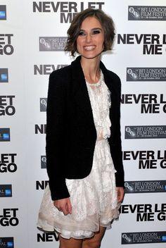 "Keira Knightley Photos Photos - Actress Keira Knightley attends the ""Never Let…"