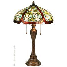Tiffany style lamp...love.