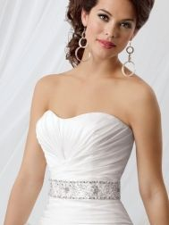 Jordan Taffeta Wedding Belts - Style EB08
