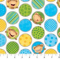Cheeky Monkey fabric