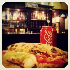 #donegal #panino #cocacola #dinner #pub #night #menu