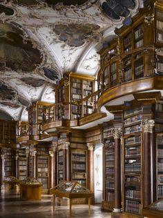 Mafra Palace Library, 1771. Mafra, Portugal.