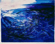 Un Artiste, Un Jour: Les bleus de Zao Wou-Ki