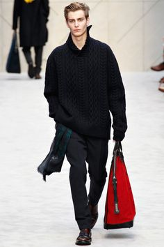Burberry Prorsum | Fall 2014 Menswear Collection |