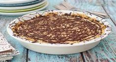 Chocolate & Almond Freezer Pie