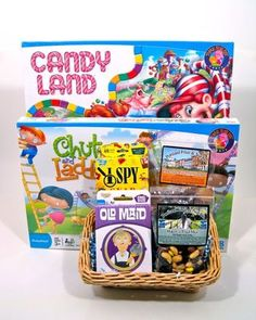 Family Game Night Preschool Great Activity Gift Basket For Young Families