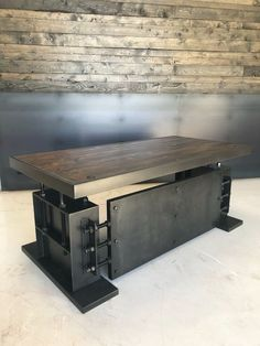 10 Active Clever Hacks: Industrial Furniture For Sale industrial rustic furniture. Industrial Design Furniture, Vintage Industrial Furniture, Industrial Bedroom, Industrial House, Unique Furniture, Rustic Furniture, Diy Furniture, Furniture Design, Industrial Table
