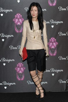 not tired at all after #mbfw Marissa Webb - Dom Perignon And Jeff Koons Rose Vintage 2013 Launch Celebration