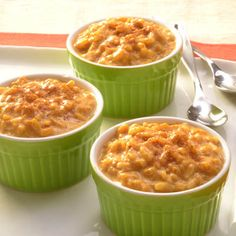 Easy Pumpkin Pie Rice Pudding* (I'd switch it up by using a long grain rice rather than Minute Rice)