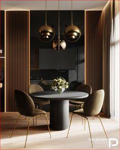 Interior Modern, Office Interior Design, Luxury Interior, Room Interior, Modern Luxury, Dining Area Design, Luxury Dining Room, Luxury Living, Dining Rooms