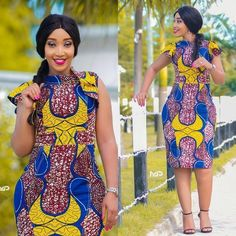 The best collection of 2018 most stylish ankara designs you've been looking for. We have them complete stylish ankara designs 2018 here Latest Ankara Short Gown, Ankara Short Gown Styles, Short Gowns, Ankara Gowns, Dress Styles, Ankara Blouse, Unique Ankara Styles, Latest Ankara Styles, Ankara Designs