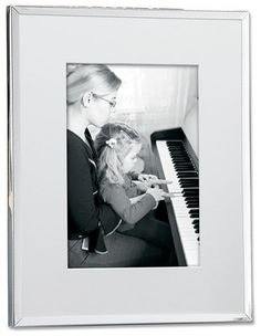 Lawrence Frames Silver Plated Matted Picture Frame