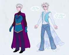 art disney Fanart anna frozen genderbending elsa I tried to do hans and kristoff and failed miserably don't look at me I just really wanted to draw a man elsa so bad Gender Bent Disney, Disney Gender Bender, Disney And Dreamworks, Disney Pixar, Disney Magic, Disney Frozen, Gravity Falls, Frozen Queen, Anna Frozen