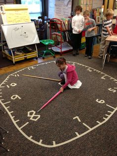 a fun and engaging way to teach time telling!