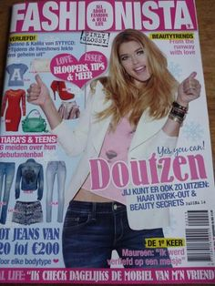 DOUTZEN KROES on Dutch Fashionista magazine / Blake Lively inside (Feb 2013)
