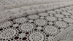 Handmade Crochet Tablecloth Rectangle, White, 125x160cm/49x63in Crochet Tablecloth, Hardanger Embroidery, Point Lace, Table Toppers, Tablecloths, Hand Crochet, Handmade Christmas, Birthday Gifts