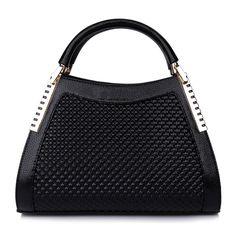 Aliexpress.com: Comprar PROMOCIONES de la mujer OL otoño DOT bolsa de mensajero de cuero sólido del hombro elegante de lujo bolsas de mano bolsos de diseño de alta calidad de bolsa fiable proveedores en YAN XI Fashion Bags Flagship Store
