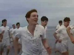 """""""Chariots of Fire"""", 1981. Starring Nicholas Farrell, Nigel Havers, and Ian Charleson. Two British track athletes, one a determined Jew and the other a devout Christian, compete in the 1924 Olympics. Based on a true story."""