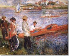 Auguste Renoir : Les Canotiers  de Chatou,