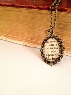 I can't hide it any more. In my head and when no one is home, I am Eponine.