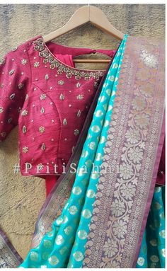 Stylish Blouse Design, Fancy Blouse Designs, Bridal Blouse Designs, Blouse Neck Designs, Maggam Work Designs, Maggam Works, Sarees, Collections, Simple