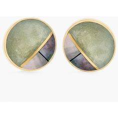 Chico's Olivia Stud Earrings (73 AED) ❤ liked on Polyvore featuring jewelry, earrings, fatigue, green stud earrings, chicos jewelry, green earrings, earring jewelry and chicos earrings