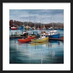 PTM Images 'Sky Harbor' Framed Painting Print