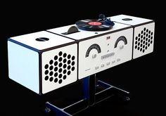Brionvega Radiofonografo rr226 von Castiglioni im Designlager Dülmen