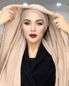 Hijab Style, Turban Style, Hijab Chic, Mode Turban, Turban Hijab, Turban Tutorial, Hijab Tutorial, Hair Cover, Hijab Fashion Inspiration