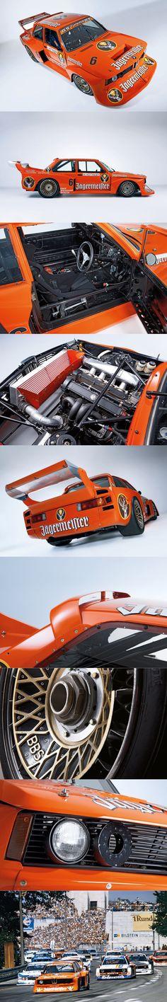 1977 BMW 320 Turbo / Jägermeister livery / Germany / orange / group 5 / Jagermeister