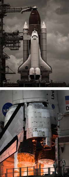 Last Launch: Space Shuttle Photos by Dan Winters | Inspiration Grid | Design Inspiration