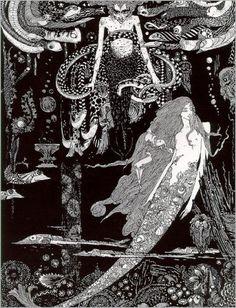 Harry Clarke, The Little Mermaid