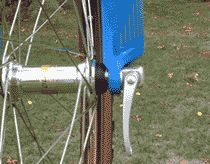 Quick-releases hold your #bike's wheels in place.   Make sure you're using them correctly and stay safe.