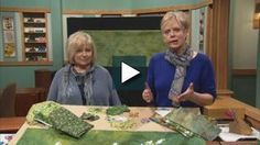 Learn to create a garden scene in fabric with this easy landscape quilting process. Natalie Sewell, landscape quilt artist & Nancy create beautiful foliage, groundcover and floral accents in their landscape quilt designs—learn the easy process in this program. Nancy & Natalie guide you in choosing fabric, cutting, clustering, highlighting, adding dimension for beautiful detail in your quilt garden