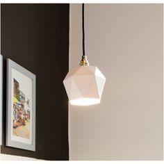 The Block Shop - Channel 9 Let Your Light Shine, Lamp Design, White Porcelain, Simple Designs, Ceiling Lights, Lighting, Diamond, Pendant, Artwork